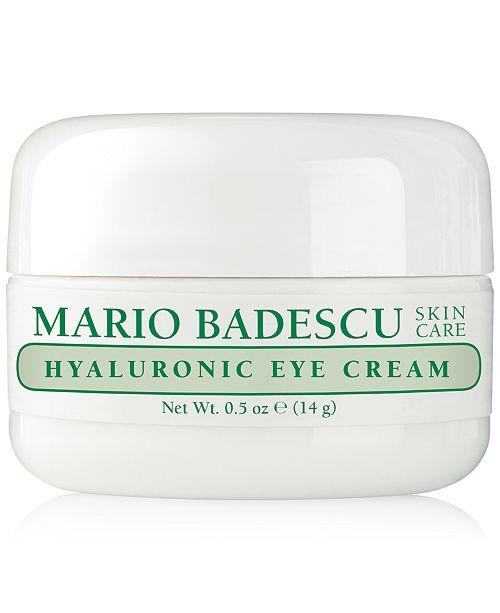 Mario Badescu Hyaluronic Eye Cream, 0.5-oz.