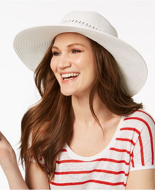 5ccbe28522b Nine West Packable Floppy Hat - Handbags   Accessories - Macy s