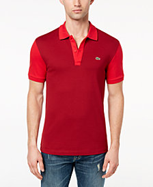 Lacoste Men's Stretch Colorblocked Piqué Polo