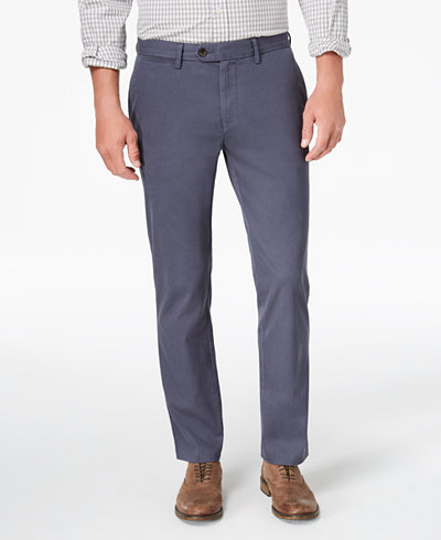 Tommy Hilfiger Men's Darren Classic-Fit Stretch Corduroy Pants, Created for Macy's