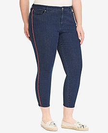 Lauren Ralph Lauren Plus Size High-Rise Skinny Jeans