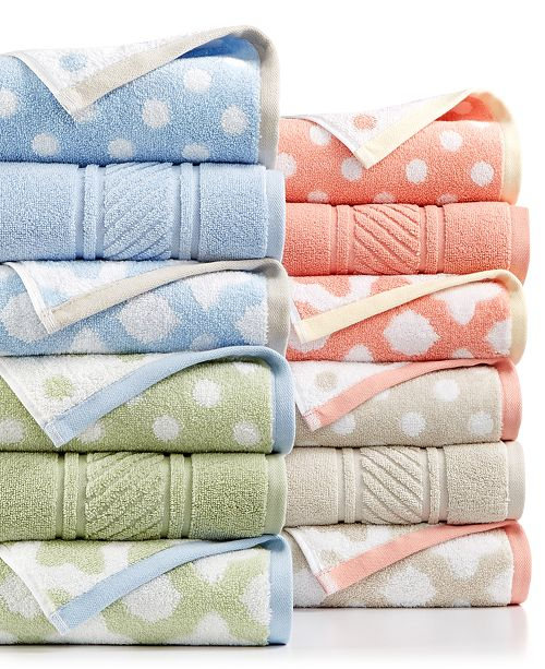 Martha Stewart Collection Spa Mix and Match Collection, Created for ...