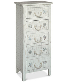Seaside 5-Drawer Chest, Quick Ship