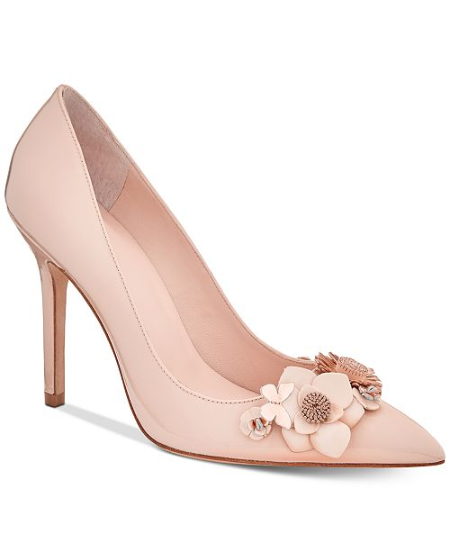 2014 new for sale Kate Spade New York Embellished Leather Pumps fashionable for sale cheap sale fashion Style sale high quality discount sale online uI45cOvBm