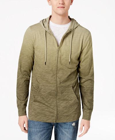 American Rag Men's Ombré Full Zip Hoodie, Created for Macy's
