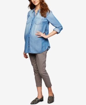 Image of A Pea In The Pod Maternity Ankle Pants