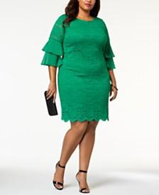Green Plus Size Dresses - Macy\'s