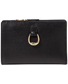 Lauren Ralph Lauren Bennington New Compact Leather Wallet