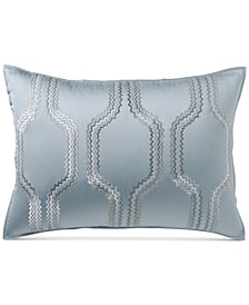 Hotel Collection Marquesa Geo Embroidered King Sham, Created for Macy's