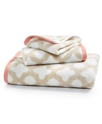Cotton Tile Spa Fashion Hand Towel, Created for Macy's