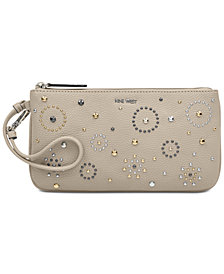 Nine West East/West Studded Wristlet