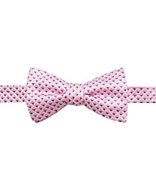 Ryan Seacrest Distinction™ Men's Irvine Neat Pre-Tied Bow Tie, Created for Macy's