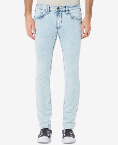 Buffalo David Bitton Men's Ash-X Slim-Fit Stretch Bleach Jeans