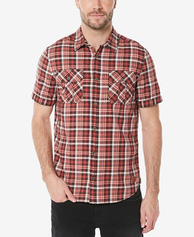Buffalo David Bitton Men's Sijoul-X Plaid Shirt