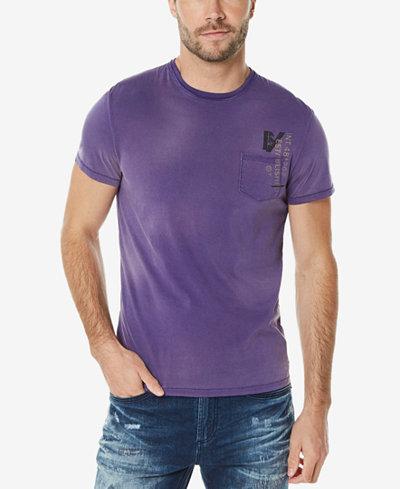 Buffalo David Bitton Men's Graphic-Print Pocket T-Shirt