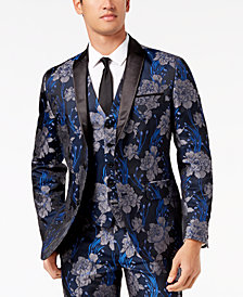 I.N.C. Men's Slim-Fit Brocade Blazer, Created for Macy's