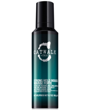 Tigi Catwalk Strong Hold Mousse, 6.7-oz, from Purebeauty Salon & Spa