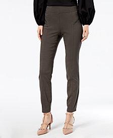 I.N.C. Skinny Moto Pants, Created for Macy's