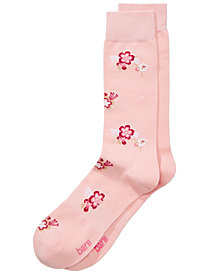 Bar III Men's Garden Blossoms Dress Socks, Created for Macy's