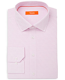 Tallia Men's Slim-Fit Tonal Dot Dress Shirt