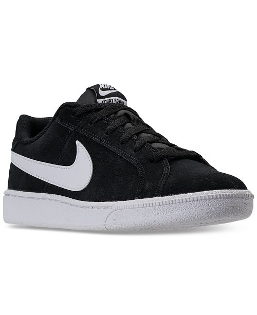a8e3a34324c6 Nike Men s Court Royale Suede Casual Sneakers from Finish Line ...