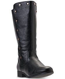 Nine West Big Girls' Stephanie Riding Boots from Finish Line