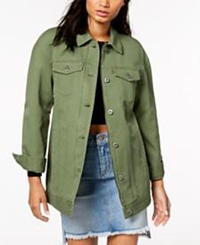 Levi's® Cotton Oversized Trucker Jacket