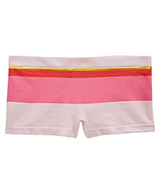 Maidenform Striped Girlshort Underwear, Little & Big Girls