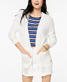 Roxy Juniors' Open-Front Cardigan