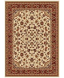 CLOSEOUT! Pesaro Kashan Ivory/Brick Area Rug Collection