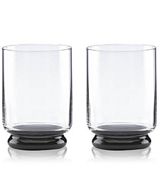 kate spade new york Charles Lane Double Old Fashioned Glasses, Set of 2