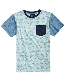 Univibe Graphic-Print Pocket T-Shirt, Big Boys