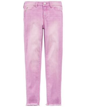 Celebrity Pink Frayed Hem Skinny Jeans, Big Girls 5724713