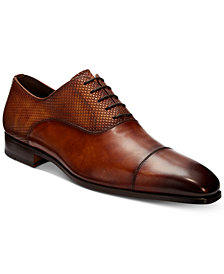 Massimo Emporio Men's Cap-Toe Lace-Up Oxford, Created for Macy's