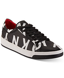 DKNY Men's Sam Logo Lace-Up Sneakers