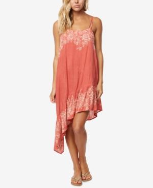 ONeill Juniors Rosella Ruffled Asymmetrical Dress