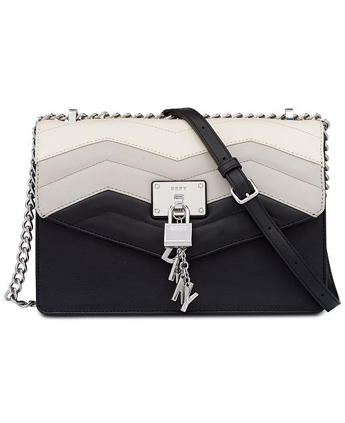 b78054c84 DKNY Elissa Chain Strap Shoulder Bag, Created for Macy's & Reviews ...