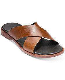 Cole Haan Men's Goldwyn Criss Cross Sandals