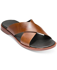 Cole Haan Men's Goldwyn Criss Cross Sandals