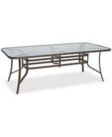 "Oasis Aluminum Outdoor 84"" x 42"" Dining Table, Created for Macy's"