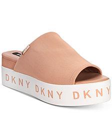 DKNY Carli Flatform Sandals, Created for Macy's