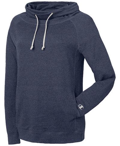 Champion Plus Size Funnel-Neck Sweatshirt