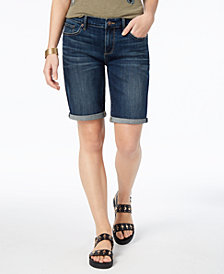 Lucky Brand Cuffed Denim Shorts