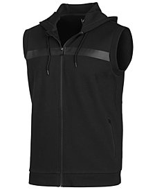 ID Ideology Men's Sleeveless Zip Hoodie, Created for Macy's