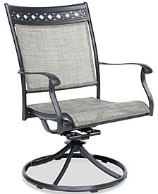 Vintage II Outdoor Swivel Rocker, Created for Macy's