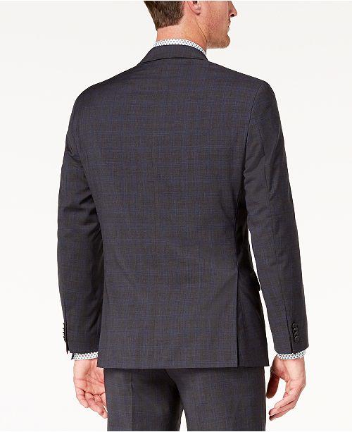 45f1609f8edec ... Michael Kors Men s Classic-Fit Airsoft Stretch Solid Suit Jacket ...