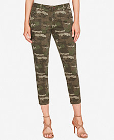 WILLIAM RAST Cropped Skinny Cargo Pants