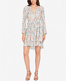 WILLIAM RAST Devondra Long-Sleeve Peasant Dress