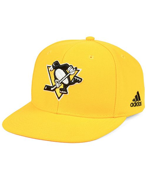 61a5a388b2e adidas Pittsburgh Penguins Core Snapback Cap - Sports Fan Shop By ...