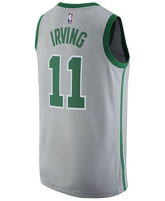 adidas Men's Kyrie Irving Boston Celtics City Swingman Jersey